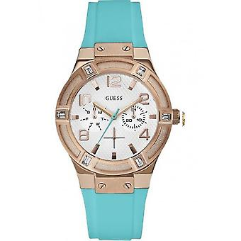 Guess - Accessories - Watches - W0564L3 - Ladies - turquoise,gold