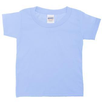 Gildan unissex para crianças/crianças camiseta de manga curta algodão pesado