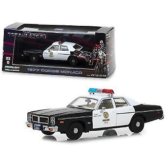 1977 Dodge Monaco Metropolitan Police The Terminator (1984) Movie 1/43 Diecast Model Car By Greenlight