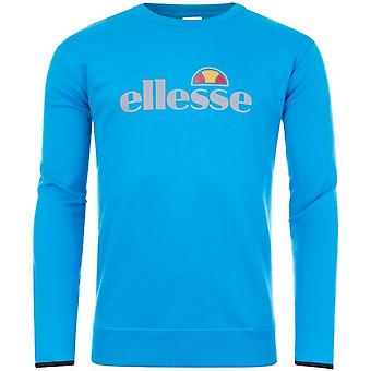 Ellesse Leeti 2 Crew Neck heijastava logo sininen College pusero