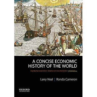 Concise Economic History of the World par Rondo Cameron
