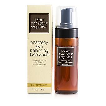 John Masters Organics uva ursina bilanciamento faccia lavare la pelle grassa (per oleosa / combinazione pelle) 177ml / 6oz