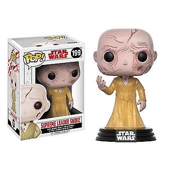 Star wars - supreme leader snoke episode viii the last jedi pop! vinyl figure