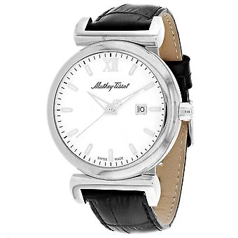 Mathey Tissot Men's White Dial Watch - H410ALI