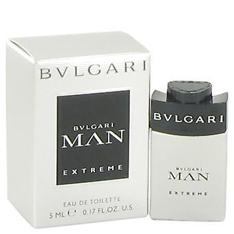 Bvlgari Man Extreme door Bvlgari Mini EDT .17 oz / 5 ml (Mannen)