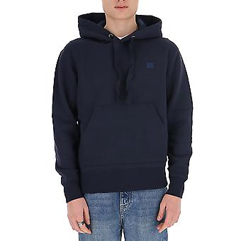 Acne Studios 2hk173navy Men's Blue Cotton Sweatshirt