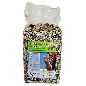 Nayeco Parrots and parakeets Great food grass 1.5 Kg. (Birds , Bird Food)