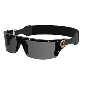 Moschino MOS049/S KB7/IR Black/Grey Sunglasses