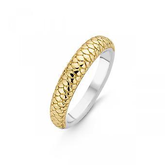 Ring Ti Sento Indigo Impressions 12164SY - Silver Ring dor animal motif Woman