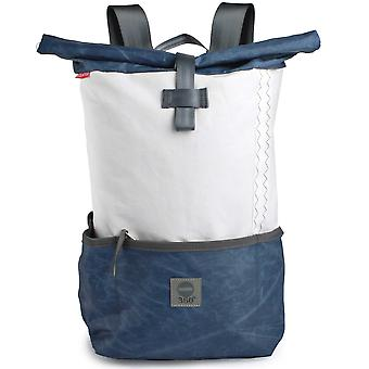 360 degree backpack pilot made of canvas with blue beam canvas bag