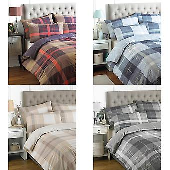 Riva Home Clubhouse Check Duvet Set
