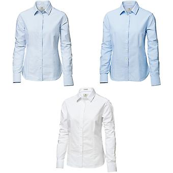 Nimbus Womens/dames Rochester chemise Oxford manches longues formelle