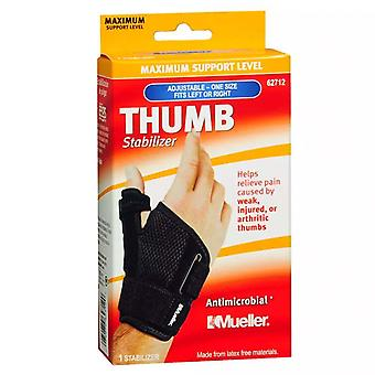 Mueller thumb stabilizer, maximum support, model 62712, one size, 1 ea