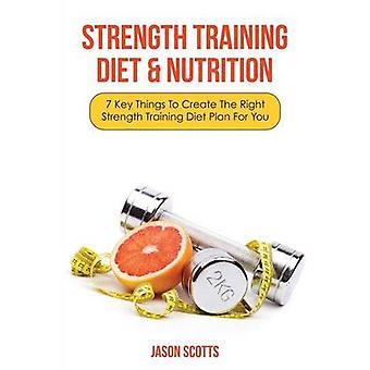 Strength Training Diet  Nutrition 7 Key Things to Create the Right Strength Training Diet Plan for You by Scotts & Jason