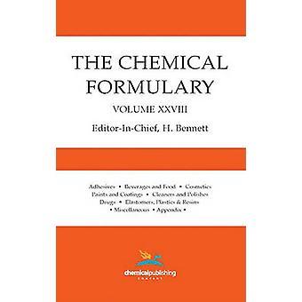 The Chemical Formulary Volume 28 by Bennett & H.