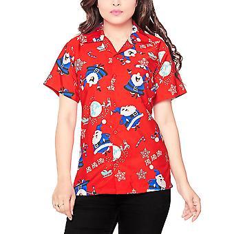 Club cubana women's regular fit classic short sleeve casual blouse shirt ccwx9