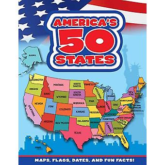 Americas 50 States  Maps Flags Dates and Fun Facts by Flying Frog