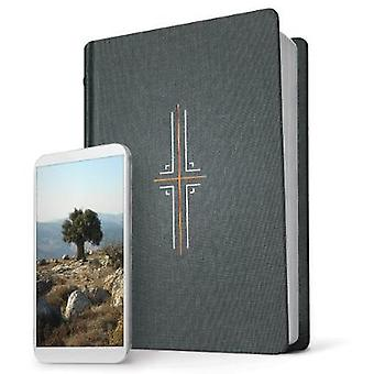 NLT Filament Bible - Midnight Blue by Tyndale - 9781496436313 Book