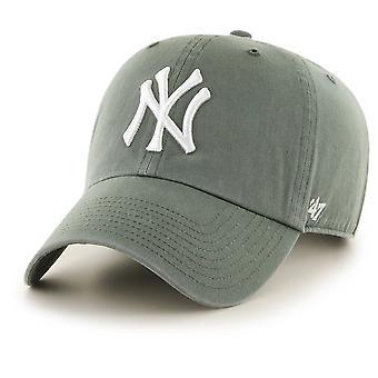 47 fire Adjustable Cap - CLEAN UP New York Yankees moss