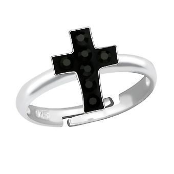 Cross - 925 Sterling Silver Rings - W12215x