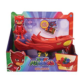 PJ Masks Owlette Owl Glider Vehicle & Figure