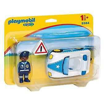 Voiture de police 1.2.3 Playmobil 9384 (3 pcs)