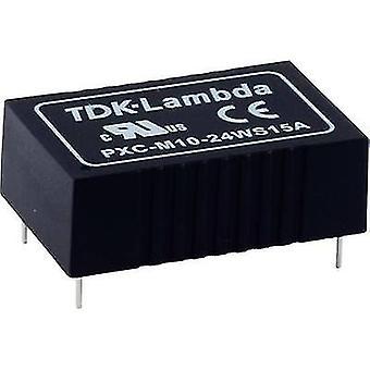 TDK-Lambda PXC-M03-24WD-12 DC/DC-muunnin (tulostus) 12 V 125 mA