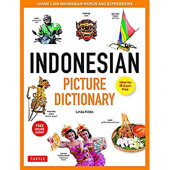 Indonesian Kuva Sanakirja - Opi 1 -500 Indonesian sanat ja Phra