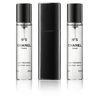 Chanel - No 5 Eau Premiere Giftset 2x Edp Spray Refill 20Ml 1x Edp Spray 20Ml - Twist and Spray - Eau De Toilette - 60ML