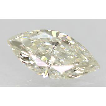 Certified 0.45 Carat H Color VVS2 Marquise Natural Loose Diamond 7.95x4.02mm 2VG