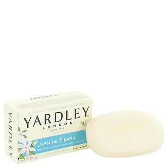 Yardley Lontoo Saippuat Jasmin Pearl Luonnollisesti kosteuttava Bath Bar Yardley Lontoo 4,25 oz Jasmin Pearl Luonnollisesti kosteuttava Bath Bar