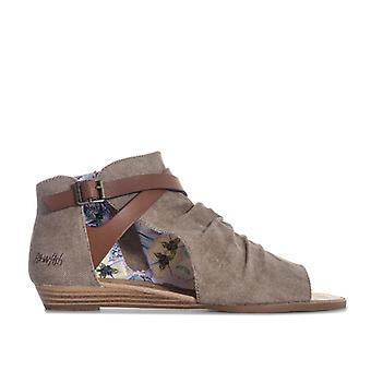 Women's Blowfish Malibu Bess Ankle Sandals in Brown