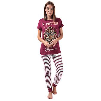 Women's Warner Bros Hogwarts Pyjamas in Red