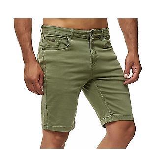Heren Chino shorts casual broek Bermuda broek stretch jeans broek W28 W38