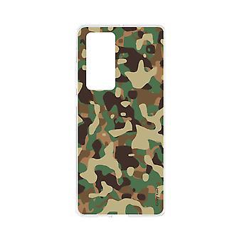 Hülle Für Huawei P40 Flexible Militär Camouflage