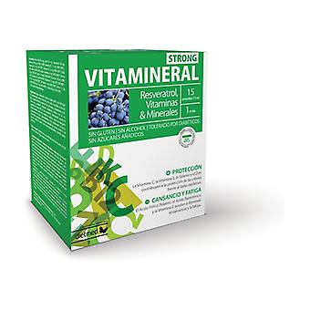 Vitamineral Strong 15 ampoules of 15ml