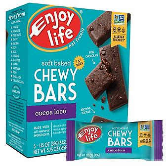 Enjoy Life Soft Baked Chewy Bars Cocoa Loco