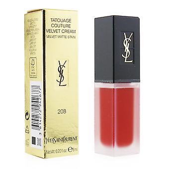 Tatouage couture velvet cream velvet matte stain # 208 rouge faction 249863 6ml/0.2oz