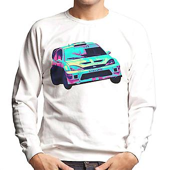 Motorsport Images Ford Focus RS WRC Turn Men-apos;s Sweatshirt