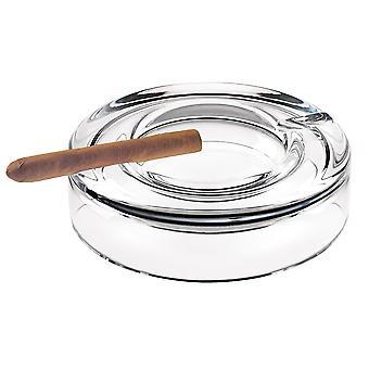 Mund blæst europæiske Crystal Cigar Ash Bakke