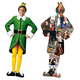 Elf Buddy and Collage Double Sided 600pc Puzzle