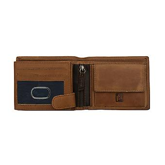 Primehide Mens Leather Card Holder Wallet RFID Blocking Gents Notecase 4031