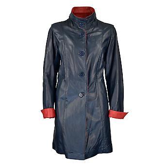 Women's Leather Coat Merry