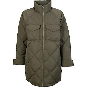 Levi's Red Tab Diamond Quilted Slit Detail Puffa