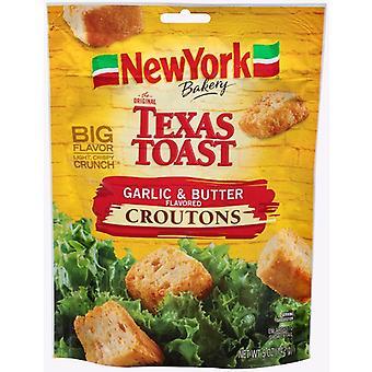 Nowy Jork Texas toast czosnek i masło flavored Croutons
