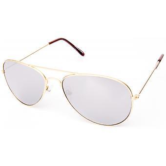 نظارات شمسية Unisex Cat.3 الذهب / الفضة (19-211)