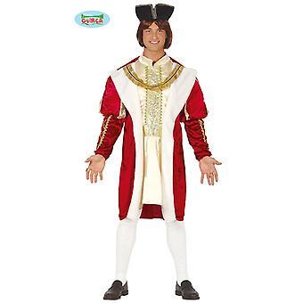 Traje de rey para hombre capa rey traje de traje de la regla