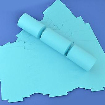 12 Sea Blue Make & Fill Your Own DIY Recyclable Christmas Cracker Boards
