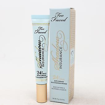 Too Faced Shadow Insurance 24 + Timme Eye Shadow Primer 0.35oz/11g Ny med Box