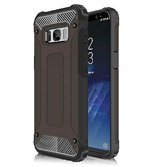 Shell for Samsung Galaxy S4 Armor Black Protection Case